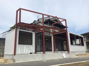 奈良県コンテナハウス店舗3台0516