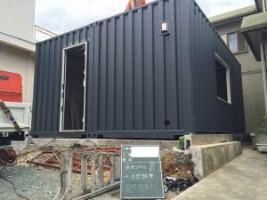 20ftハイキューブコンテナハウス浜松連結201702
