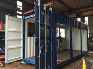 新造20ftハイキューブコンテナハウス工場設備2