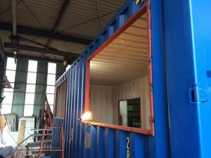 新造20ftハイキューブコンテナハウス工場設備3