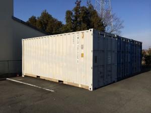 愛知県中古20ftコンテナ販売運搬設置201712
