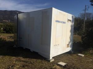 12ft保冷コンテナJOT納品 201801