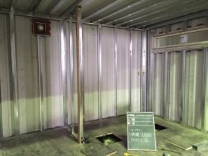 コンテナ美容室 内装12ft 千葉県八千代市