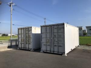 中古20ftコンテナ 現状品 設置 静岡県 201809