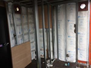 コンテナハウス 12ft 美容室 断熱材