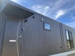ムーバブルハウスJIS建築用コンテナ 田原市 外装完工202008