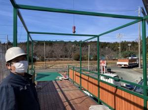 コンテナ屋上デッキバルコニー 愛知県202102B